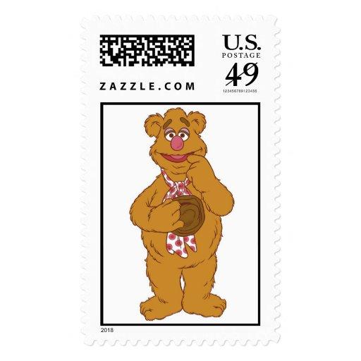Fozzie Bear Smiling Disney Stamps