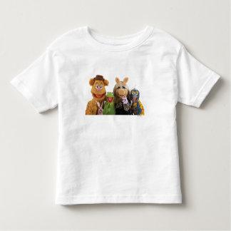 Fozzie, Kermit, Miss Piggy, and Gonzo T Shirts