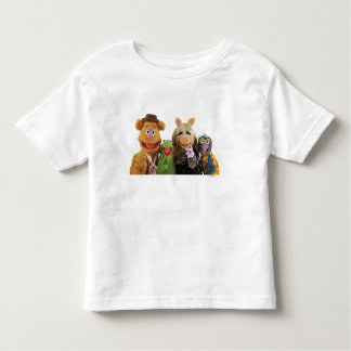 Fozzie, Kermit, Miss Piggy, and Gonzo Toddler T-shirt
