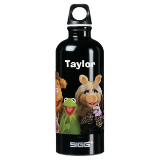 Fozzie, Kermit, Miss Piggy, and Gonzo Water Bottle