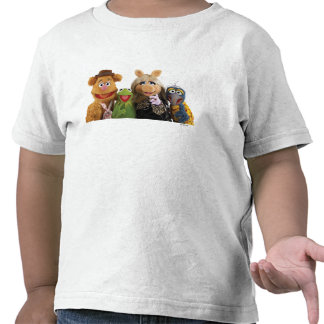Fozzie Kermit Srta Piggy y Gonzo Camisetas