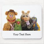 Fozzie, Kermit, Srta. Piggy, y Gonzo Tapete De Ratón