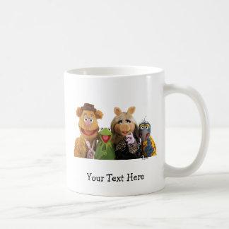 Fozzie, Kermit, Srta. Piggy, y Gonzo Tazas
