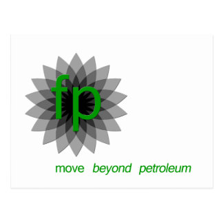 FP: move beyond petroleum Postcard