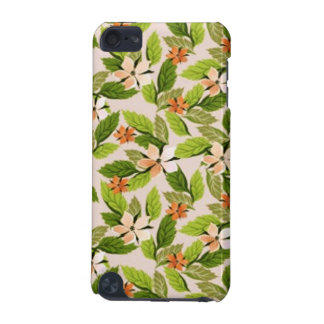 fpadrão of flowers and leaves iPod touch 5G case