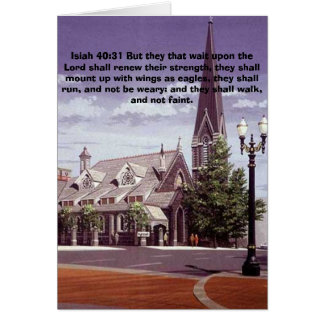 fpc-church-street_lg, Isiah 40:31 But they that... Greeting Card
