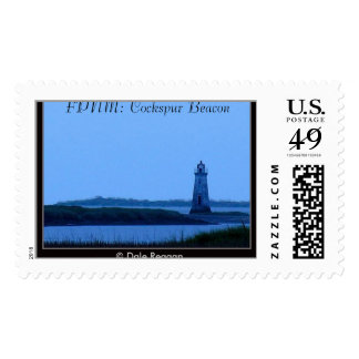 FPNM: Cockspur Beacon at dawn Postage Stamps
