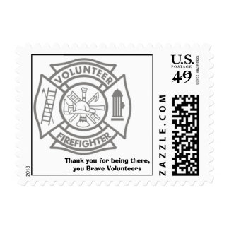 fr-039, Thank you for being there,you Brave Vol... Stamps