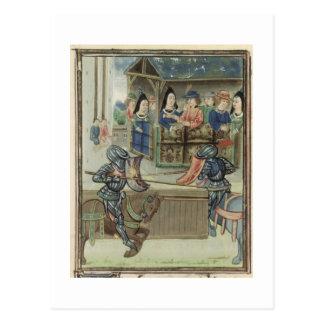 Fr.16830 f.16v Chronicle of Jacques de Lalain (vel Postcard