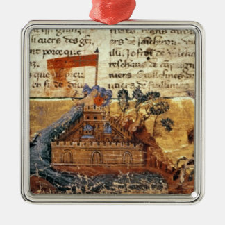 Fr 4972 f.1: Jerusalem in the Crusades Metal Ornament