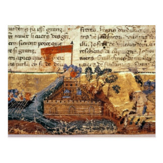 Fr 4972 f.1: Jerusalem in the Crusades Postcard