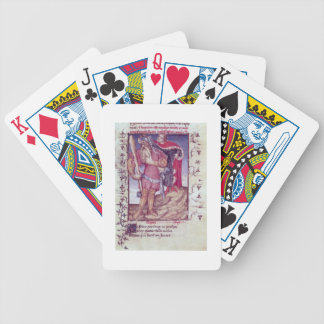 Fr 606 f.11 Ulysses piercing the eye of the Cyclop Bicycle Playing Cards