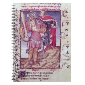 Fr 606 f.11 Ulysses piercing the eye of the Cyclop Spiral Notebook