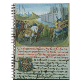 Fr 6465 f.22 Entry of Louis VII into Constantinopl Notebook