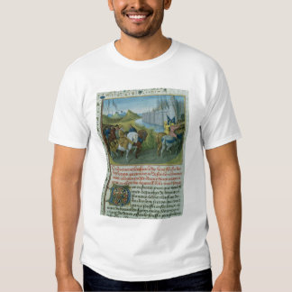 Fr 6465 f.22 Entry of Louis VII into Constantinopl Shirts