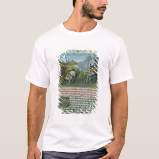 Fr 6465 f.22 Entry of Louis VII into Constantinopl T-Shirt