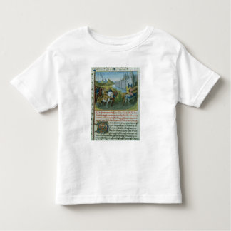 Fr 6465 f.22 Entry of Louis VII into Constantinopl Toddler T-shirt