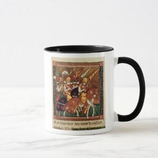 Fr 9084 f.20v: Knights on horseback Mug