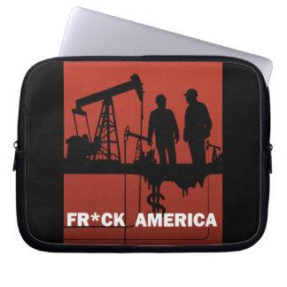 Fr*ck America Laptop Sleeve