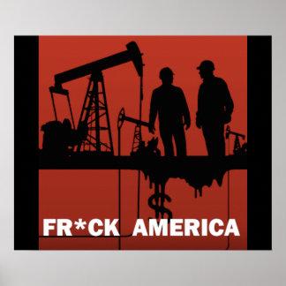 Fr*ck America Poster