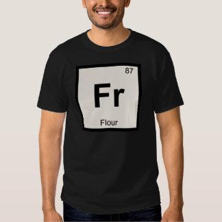 Fr - Flour Chemistry Periodic Table Symbol T-Shirt
