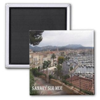 FR - France - French Riviera - Sanary-sur-Mer Magnet