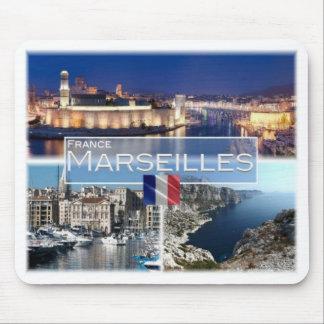 FR France - Marseilles - Old Port - Bay of Morgiou Mouse Pad
