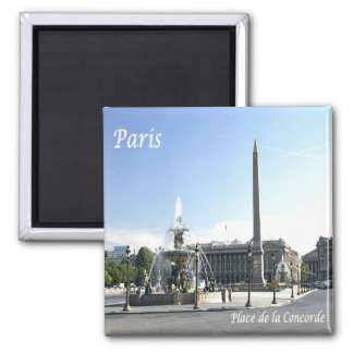 FR - France - Paris - Place de la Concorde Magnet