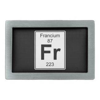 Fr - Francium Belt Buckle