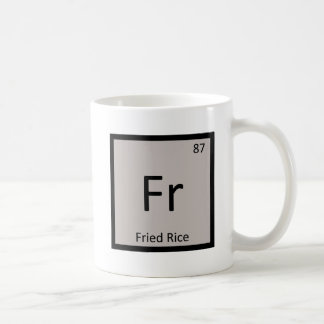 Fr - Fried Rice Chemistry Periodic Table Symbol Mugs