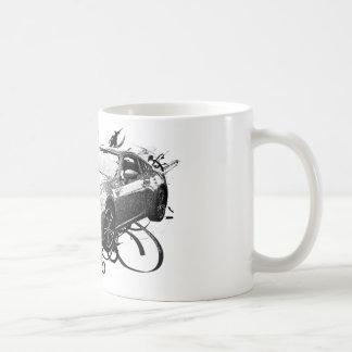 FR-S en remolinos Tazas De Café
