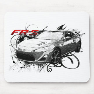 FR-S in swirls Mouse Pad