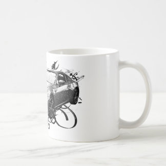 FR-S in swirls Classic White Coffee Mug