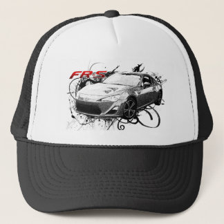 FR-S in swirls Trucker Hat
