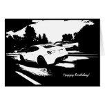FR-S Rolling Shot Birthday Card