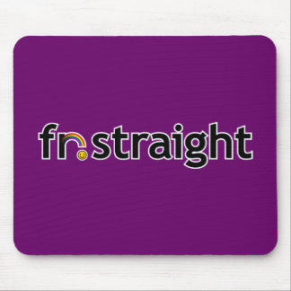 fr.straight Mousepad