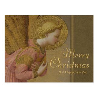 Fra Angelico Annunciation angel CC0808 Christmas Postcard