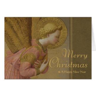 Fra Angelico Annunciation angel CC0809 Christmas Card