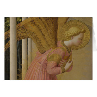 Fra Angelico Annunciation angel CC0817 Card