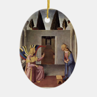Fra Angelico- Annunciation Christmas Ornament