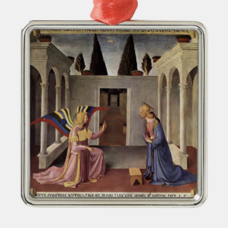 Fra Angelico- Annunciation Christmas Tree Ornament