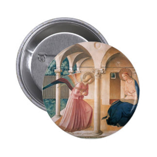 Fra Angelico- Annunciation Pinback Button