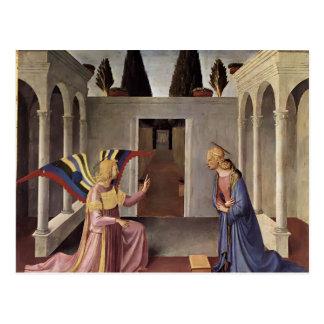 Fra Angelico- Annunciation Postcard