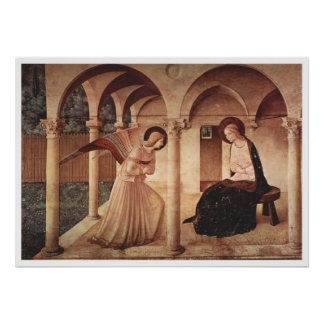 Fra Angelico - Annunciation Poster