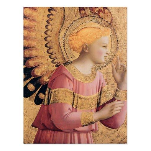 Fra Angelico- Archangel Gabriel Annunciate Postcards