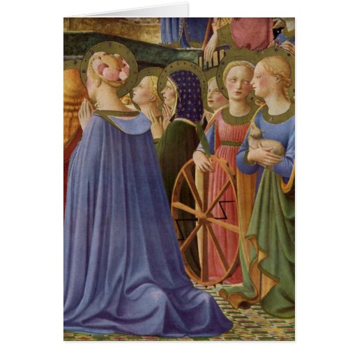 Fra Angelico Art Greeting Card