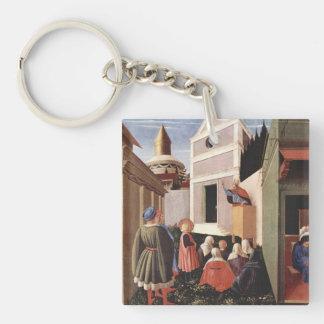 Fra Angelico Art Keychain
