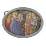 Fra Angelico Art Oval Belt Buckle