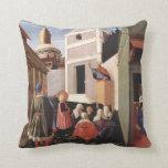 Fra Angelico Art Pillow