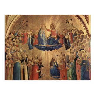 Fra Angelico Art Postcards